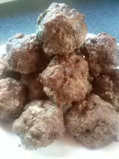 Beef Meatballs with Liver