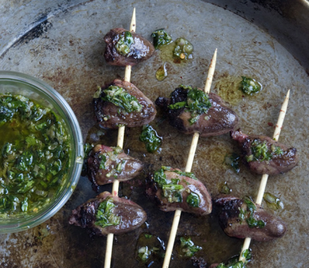 heart kebabs