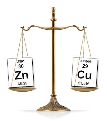 copper-zinc-scale